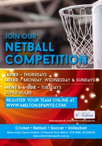 Join our Netball Competition-FACEBOOK
